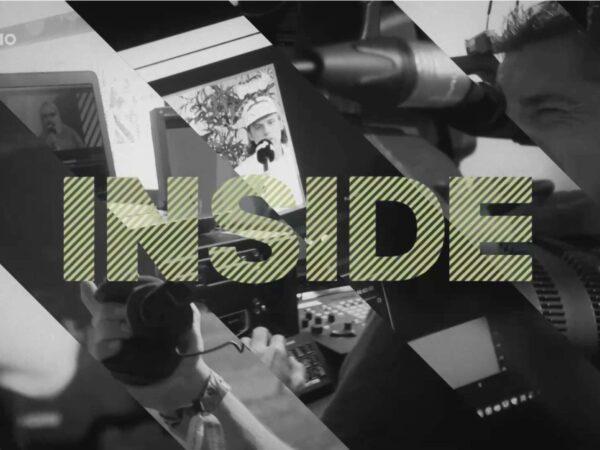 Le magazine INSIDE présente les métiers de l'audiovisuel