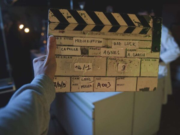 Badluck: tournage d'un travail de fin d'études multimédia